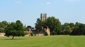 Park nahe Merton-College lizenzfreie stockbilder