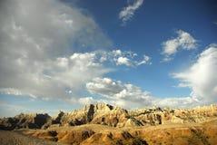 park narodowy badlands Obrazy Stock