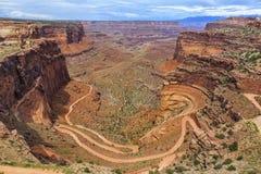 park narodowy canyonlands Utah Zdjęcia Royalty Free