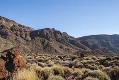 Park Narodowy (El Teide, Tenerife -) Fotografia Stock