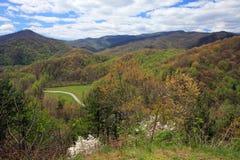 park narodowy górski wędzone Zdjęcia Stock