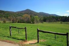 park narodowy górski wędzone Obraz Stock