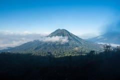 Park Narodowy Ijen, Indonezja Obrazy Royalty Free