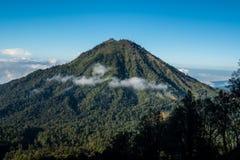 Park Narodowy Ijen, Indonezja Obraz Royalty Free