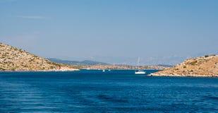 Park Narodowy Kornati w Chorwacja Zdjęcie Royalty Free
