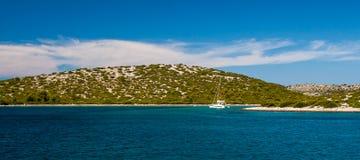 Park Narodowy Kornati w Chorwacja Fotografia Royalty Free