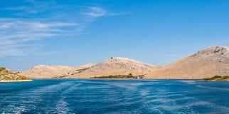 Park Narodowy Kornati w Chorwacja Obraz Stock