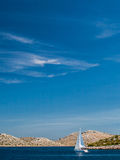 Park Narodowy Kornati w Chorwacja Obrazy Stock