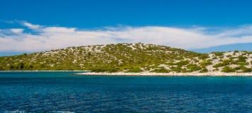 Park Narodowy Kornati w Chorwacja Zdjęcia Stock