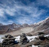 park narodowy krajobrazowy halny sagarmatha Obrazy Stock