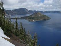 park narodowy krateru jeziora. obrazy royalty free