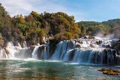 Park Narodowy Krka, siklawy, Chorwacja Obrazy Royalty Free