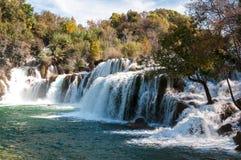 Park Narodowy Krka, siklawy, Chorwacja Obrazy Stock