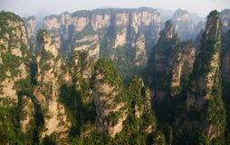 park narodowy porcelanowy lasowy park narodowy Zhangjiajie Zdjęcia Royalty Free