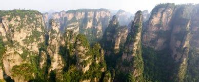 park narodowy porcelanowy lasowy park narodowy Zhangjiajie Obrazy Stock