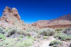 Park Narodowy Teide Zdjęcia Royalty Free