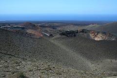 park narodowy timanfaya zdjęcie stock