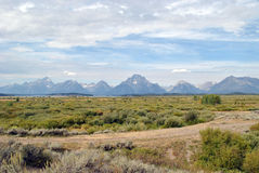 park narodowy uroczysty teton Fotografia Stock