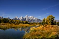 park narodowy uroczysty teton Zdjęcia Royalty Free