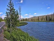 park narodowy uroczysty teton Wyoming Obraz Stock
