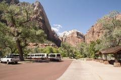 park narodowy usa Utah zion obraz royalty free
