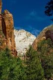 park narodowy Utah zion Zdjęcie Royalty Free