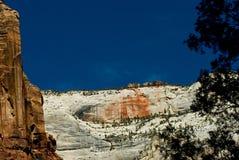 park narodowy Utah zion Zdjęcia Royalty Free