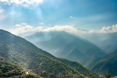 park narodowy wejściowa sequoia zdjęcie royalty free