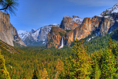 park narodowy Yosemite Fotografia Royalty Free