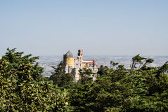 Park of National Palace of Pena (Sintra) Stock Photos