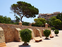 Park of Nations Torrevieja dedicated to the nations of Europe, S Royalty Free Stock Image