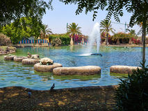 Park of Nations Torrevieja dedicated to the nations of Europe, S Stock Image