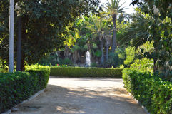 A park Near Benidorm Royalty Free Stock Photos