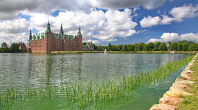 Park near Frederiksborg palace Stock Image
