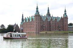 Park near Frederiksborg palace stock photo
