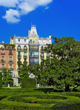 Park near Royal Palace - Madrid Royalty Free Stock Photos