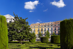 Park near Royal Palace - Madrid Royalty Free Stock Image