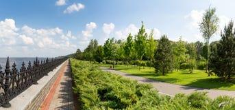 Park near the sea Royalty Free Stock Image