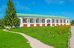 The shopping arcade of Suzdal Royalty Free Stock Photo