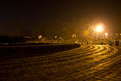 Park at night Royalty Free Stock Photography