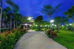 Park at night Royalty Free Stock Image