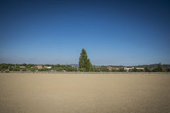 Park with nobody in Sant Cugat del Valles Stock Photography