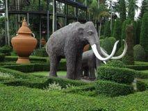 Park Nong Nooch Lizenzfreies Stockfoto