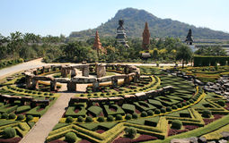 Park nong nooch in Thailand Stock Image