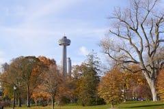 Park. November 01,2016 : Toronto, Canada : View of park in Toronto stock image
