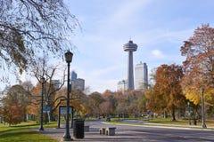 Park. November 01,2016 : Toronto, Canada : View of park in Toronto royalty free stock photos