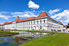 Park in nymphenburg castle Royalty Free Stock Image
