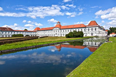 Park in nymphenburg castle Stock Images