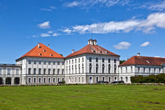 Park in nymphenburg castle, munich Stock Photo