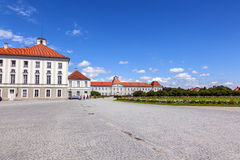 Park in nymphenburg castle Stock Photo